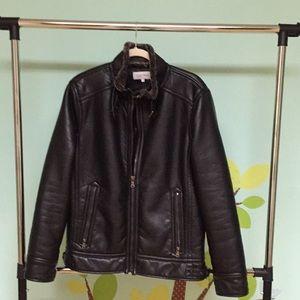 Calvin Klein   Men Leather Jacket